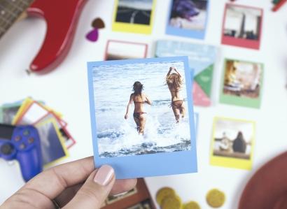 Mini polaroid